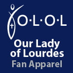 Our Lady of Lourdes Fan Apparel