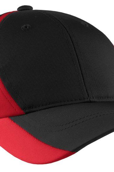 YSTC11-Black/True Red